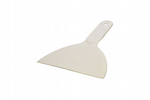 "White Scraper Spreader, 6"". Ideal for Filling, Icing, Scraping, Decorating, De-icing, Plastering, Polyfilla. X7091"